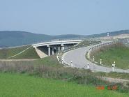 Železnice Slovenskej republiky - Cestný most cez železnicu - Potvorice