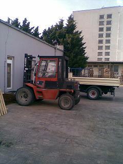 DESTA vysokozdvižný vozík do 3,5 t.